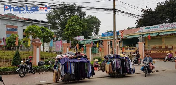 Bệnh viện đa khoa Tuyên Quang, nơi có những lùm xùm xuất hiện hàng trăm chứng chỉ giả (Ảnh: Tiến Vũ)