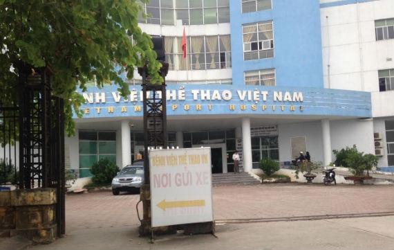 Bệnh viện Thể thao Việt Nam có dấu hiệu sai phạm? (Ảnh: TL)