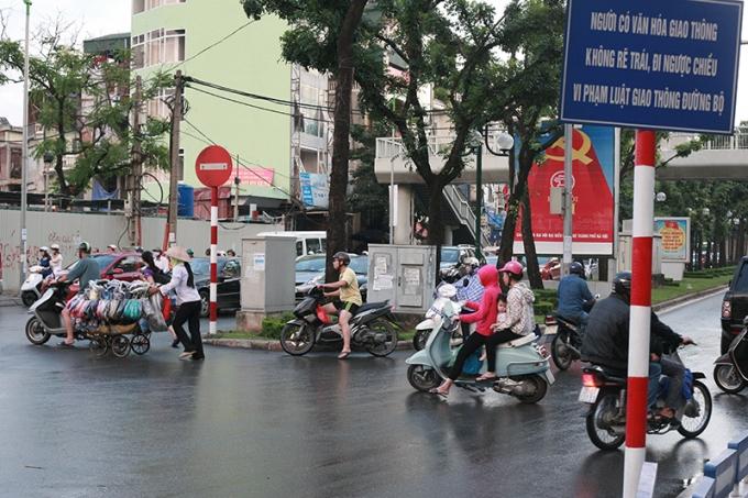 Văn hoá giao thông...