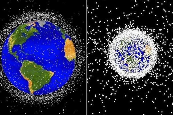 Space Balls và những phần khác sau khi tách ra khỏi tàu vũ trụ, trở thành rác thải không gian. Trong tháng 9/2015, Hội đồng nghiên cứu quốc gia Mỹ đã cảnh báo với NASA rằng số lượng rác vũ trụ đã nhiều đến mức báo động. Hiện có hơn 22.000 mảnh vỡ, trong đó có Space Balls, đang lơ lửng trong không gian.