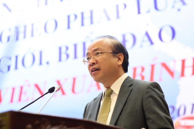 Thứ trưởng Bộ Tư Pháp Phan Chí Hiếu.