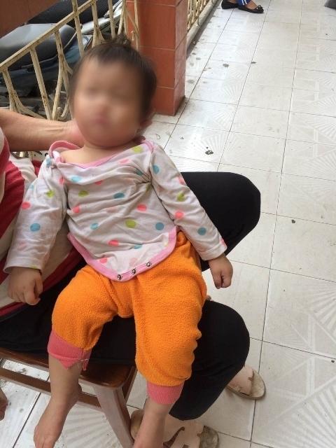 Cháu bé đã được trao trả lại gia đình trong tình trạng sức khỏe hoàn toàn bình thường.