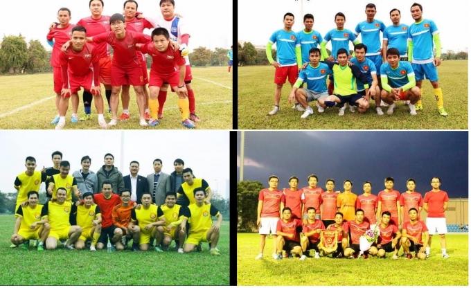 Giải đấu có sự tham gia của 4 đội bóng đại diện cho 4 địa phương.