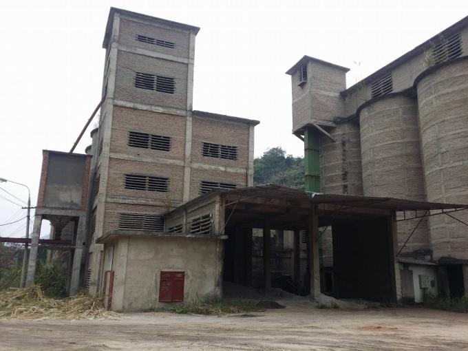 Nhà máy xi măng Bắc Kạn, nơi xảy ra sự cố mất nguồn phóng xạ.