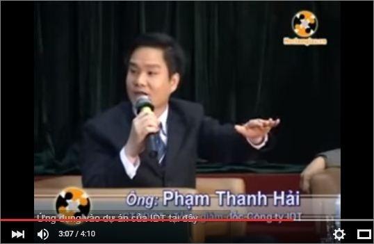 Ông Phạm Thanh Hải thuyết trình Làm giàu khó hay dễ?