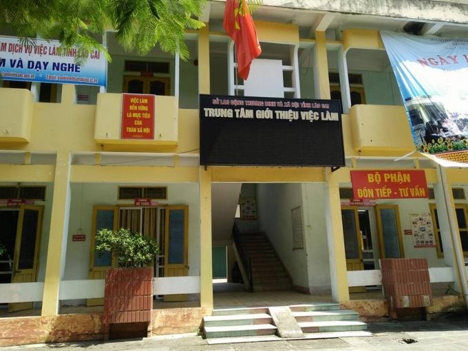 Trung tâm Dịch vụ Việc làm tỉnh Lào Cai bị tố sử dụng lương của nhân viên để
