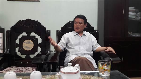 Ông Đặng Kim Trọng, Giám đốc Trung tâm Dịch vụ Việc làm tỉnh Lào Cai tại buổi trao đổi với PV.
