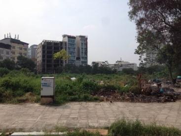 Hiện trạng khu đất dự án sau khi bị các đối tượng tháo dỡ.