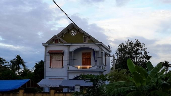 Ngôi nhà nơi xảy ra vụ thảm án.