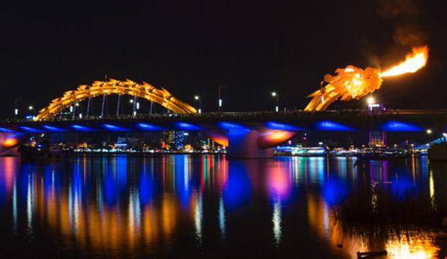Cầu Rồng Đà Nẵng (Ảnh: Plo.vn)
