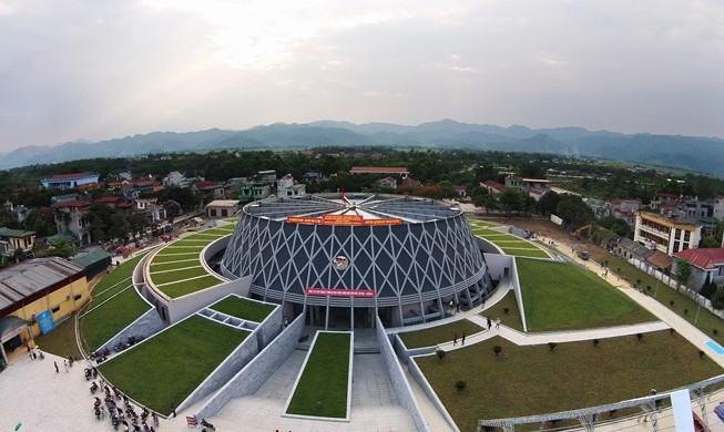 Bảo tàng tỉnh Điện Biên, một trong những công trình tạo điểm nhấn cho tỉnh Điện Biên.