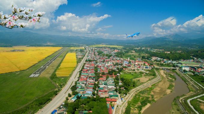 Một góc Thành phố Điện Biên.