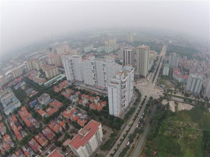 Một góc Thủ đô Hà Nội (Ảnh: Lê Hiếu).