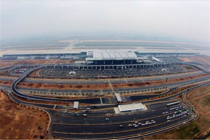 Nhà ga T2 sân bay Quốc tế Nội Bài (Ảnh: Lê Hiếu).
