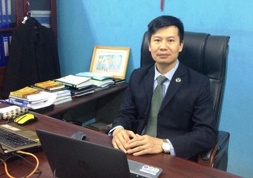 LS Hoàng Minh Hiển, Đoàn Luật sư Thành phố Hà Nội (Ảnh: Lương Liễu).