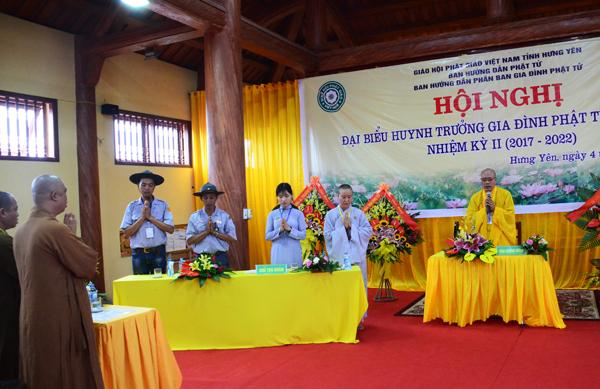 Hội nghị Huynh trưởng Gia đình Phật tử nhiệm kỳ II (2017- 2022) tại Hưng Yên.