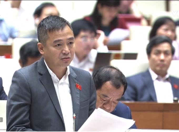 Đại biểu Nguyễn Lân Hiếu, Đoàn ĐBQH tỉnh An Giang.