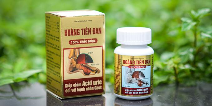 Sản phẩm Hoàng Tiên Đan do Công ty TNHH Dược Nhân Hưng phân phối.