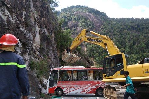 Vụ tai nạn nghiêm trọng đã khiến 23 người thương vong (Ảnh: Vietnamnet.vn)