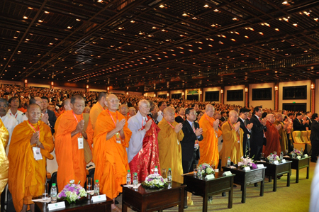 Đại lễ Phật đản LHQ Vesak 2014 được tổ chức tại chùa Bái Đính, Ninh Bình.