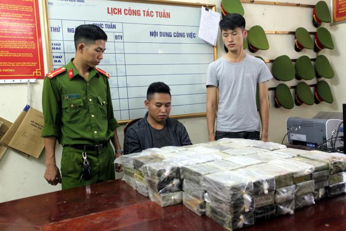 Bắc Kạn: Bắt giữ vụ vận chuyển gần 200 bánh Heroin