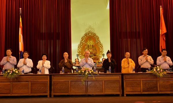 Ủy ban Văn hóa, Giáo dục, Thanh niên và Nhi đồng của Quốc hội làm việc với Học viện Phật giáo Việt Nam