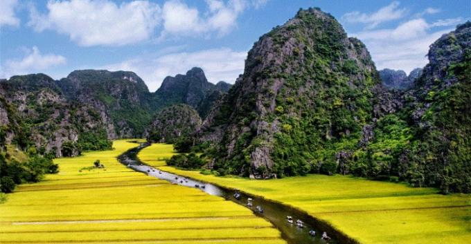 Khu du lịch Tràng An (Ninh Bình).