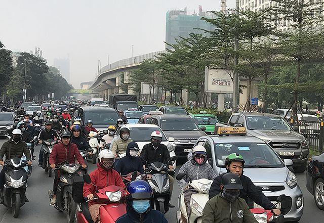 Hà Nội đang tính tới việc thí điểm cấm xe máy trong khu vực trung tâm.