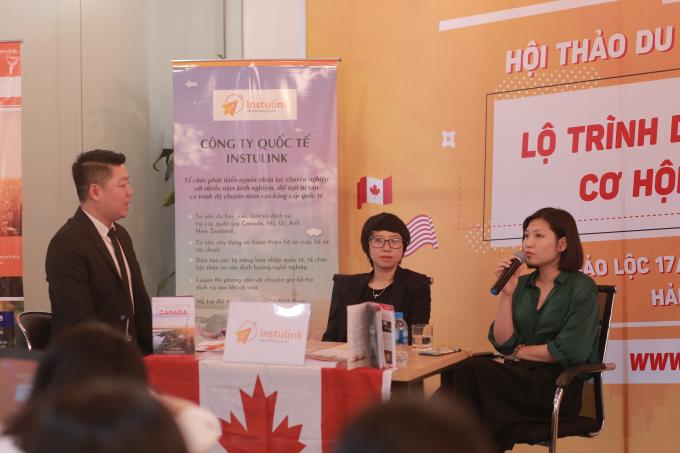 Học sinh Hà thành hào hứng trước cơ hội du học ngắn hạn tại Mỹ và Canada