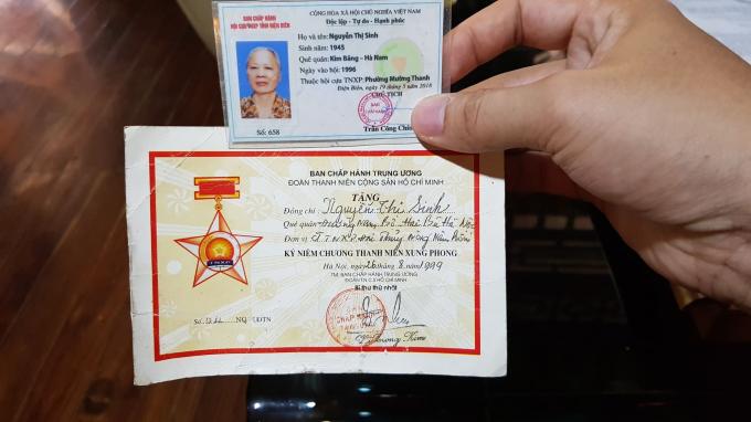 Bà Sinh từng đọc Quyết tâm thư viết bằng máu lên xây dựng công trình Đại thuỷ nông Nậm Rốm tại Điện Biên.