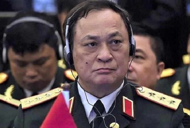 Bị cáo Nguyễn Văn Hiến - cựu Thứ trưởng Bộ Quốc phòng.
