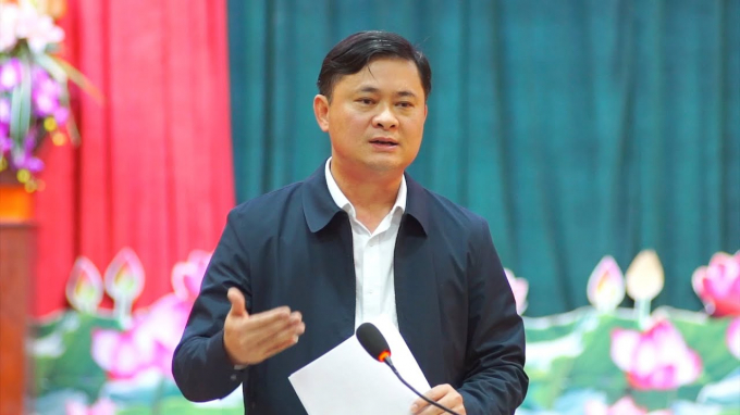 Ông Thái Thanh Quý, Ủy viên Dự khuyết BCH Trung ương Đảng, Bí thư Tỉnh ủy Nghệ An.