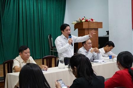 Ông Lê Minh Hải – Phó Trưởng ban Ban Quản lý An toàn thực phẩm TP HCM.