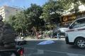 Hà Nội: Va chạm với xe tải, đôi nam nữ tử vong tại chỗ