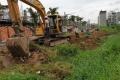 Dự án Thăng Long Home - Hưng Phú lấp rạch gây ngập úng