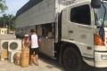 CSGT bắt giữ xe tải chở 341 bộ điều hòa không có giấy tờ