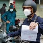 Những đối tượng nào được sử dụng 'Giấy đi đường' lưu thông ở Hà Nội?