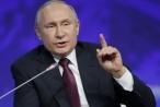 Ông Putin tự tin tuyên bố nền kinh tế Nga sẽ lọt top 5 thế giới