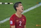 Bạn gái bất ngờ đăng trạng thái lạ sau khi Duy Mạnh bị chảy máu, băng kín mắt trên sân