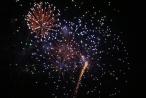 Màn bắn pháo hoa rực rỡ mừng TP Hà Tĩnh lên đô thị loại II