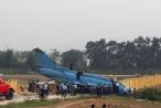 Máy bay Su 22M4 gặp sự cố tại Yên Bái là do trục trặc ở càng máy bay