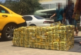 Bắt hơn 1,1 tấn ma túy giấu trong trà, loa thùng ở Sài Gòn