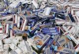 Phát hiện số lượng lớn thuốc lá điếu nhập lậu