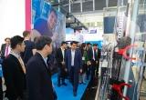Chủ tịch TP. Hà Nội Nguyễn Đức Chung và lãnh đạo Hà Nội đến dự hội chợ công nghệ tự động hoá tại Đức