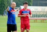 HLV Park Hang-Seo triệu tập tiền vệ Minh Vương thay trung vệ Thành Chung vì chấn thương