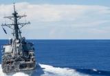Tàu Mỹ tiếp tục thách thức yêu sách chủ quyền của Trung Quốc ở Biển Đông