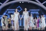 Hoa hậu Kỳ Duyên và hoa hậu Mỹ Linh đọ sắc với váy xẻ cao ngút mắt