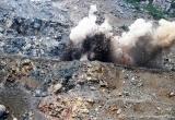 Công ty TNHH Tiến Long bị xử phạt vì nổ mìn sai vị trí