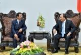 Thủ tướng Nguyễn Xuân Phúc tiếp lãnh đạo Tập đoàn DP World (UAE)