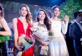 Hoa hậu Phạm Hương đến ủng hộ học trò An Nguy ra mắt phim